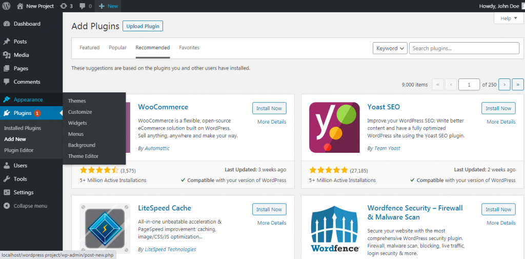 things-to-do-after-installing-wordpress
