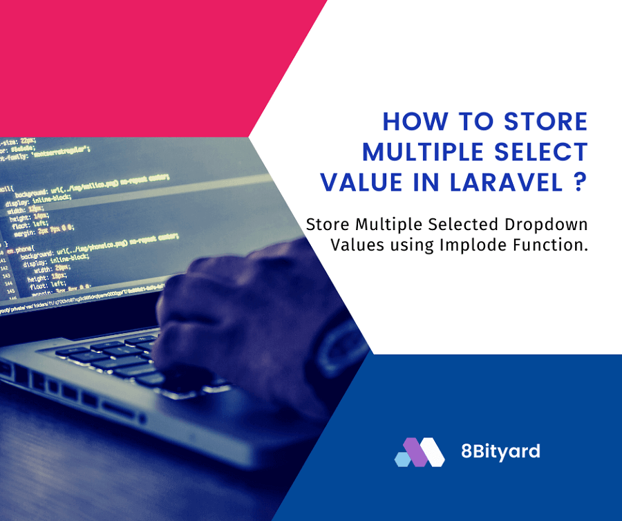how to store dropdown multiple value in laravel