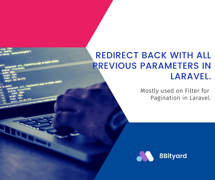 Redirect Back with All Previous Parameters in Laravel
